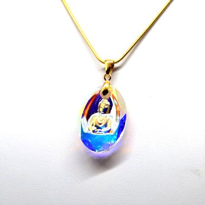 Collier Bouddha Cristal