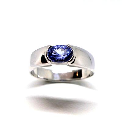 Bague Tanzanite Ovale Extra